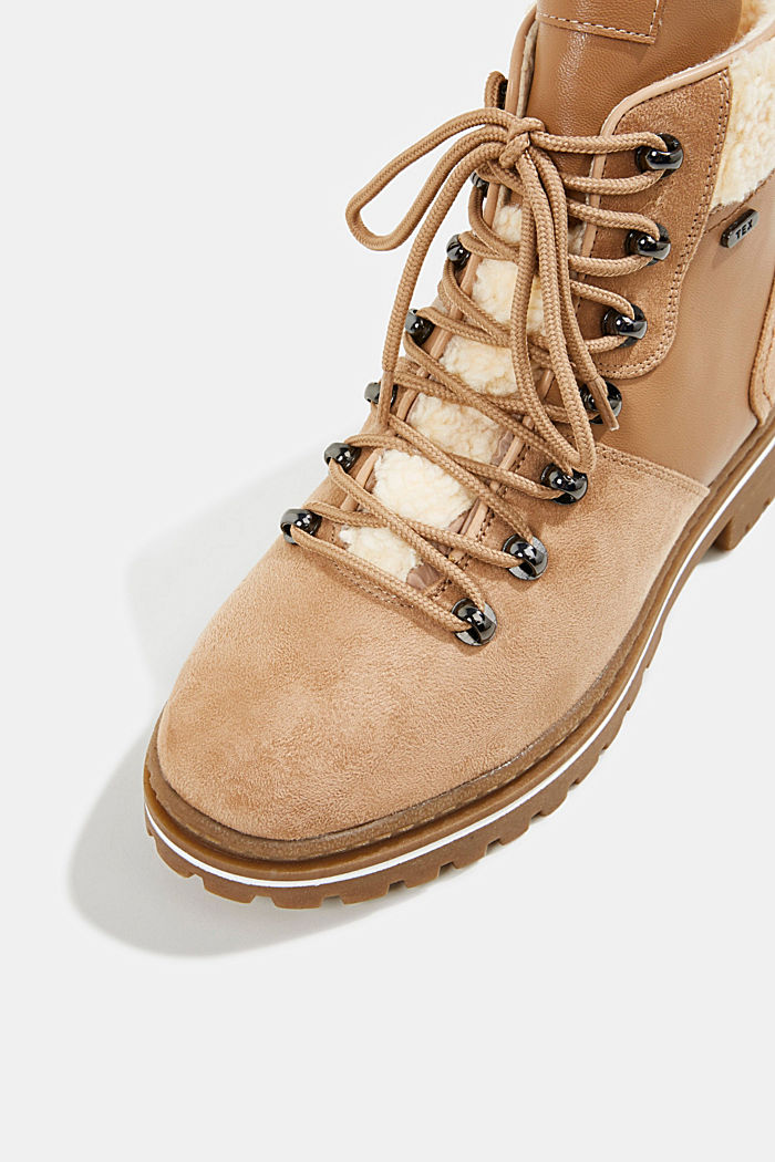 Boots mit TEX-Membran, BRASS YELLOW, detail image number 4
