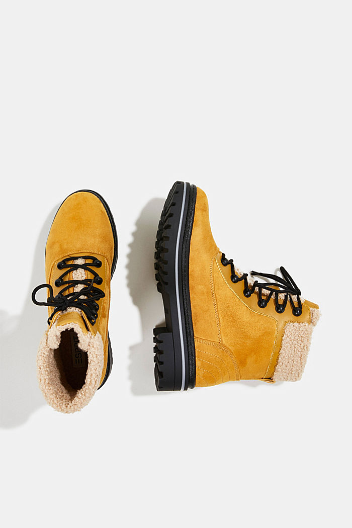 Boots mit TEX-Membran, AMBER YELLOW, detail image number 1