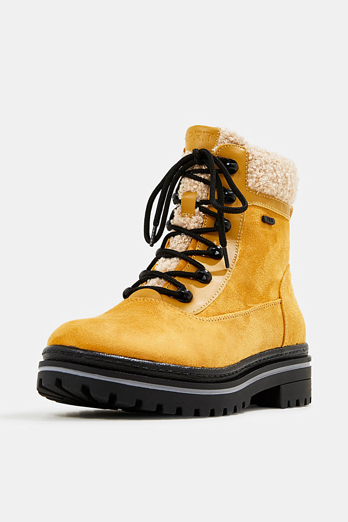Boots mit TEX-Membran, AMBER YELLOW, detail image number 2