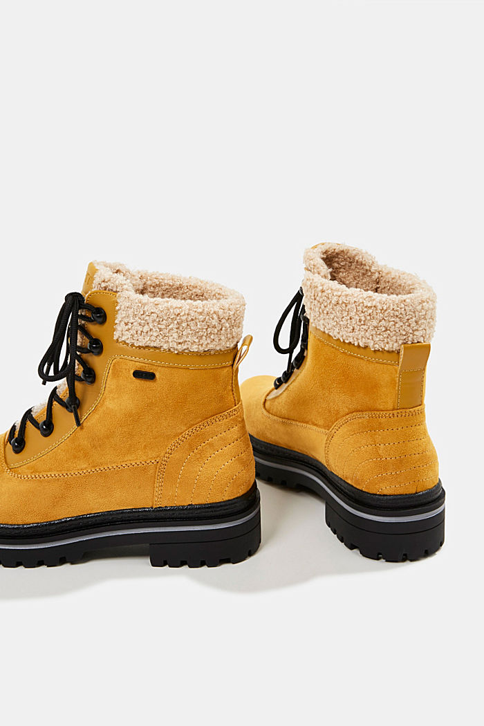 Boots mit TEX-Membran, AMBER YELLOW, detail image number 5