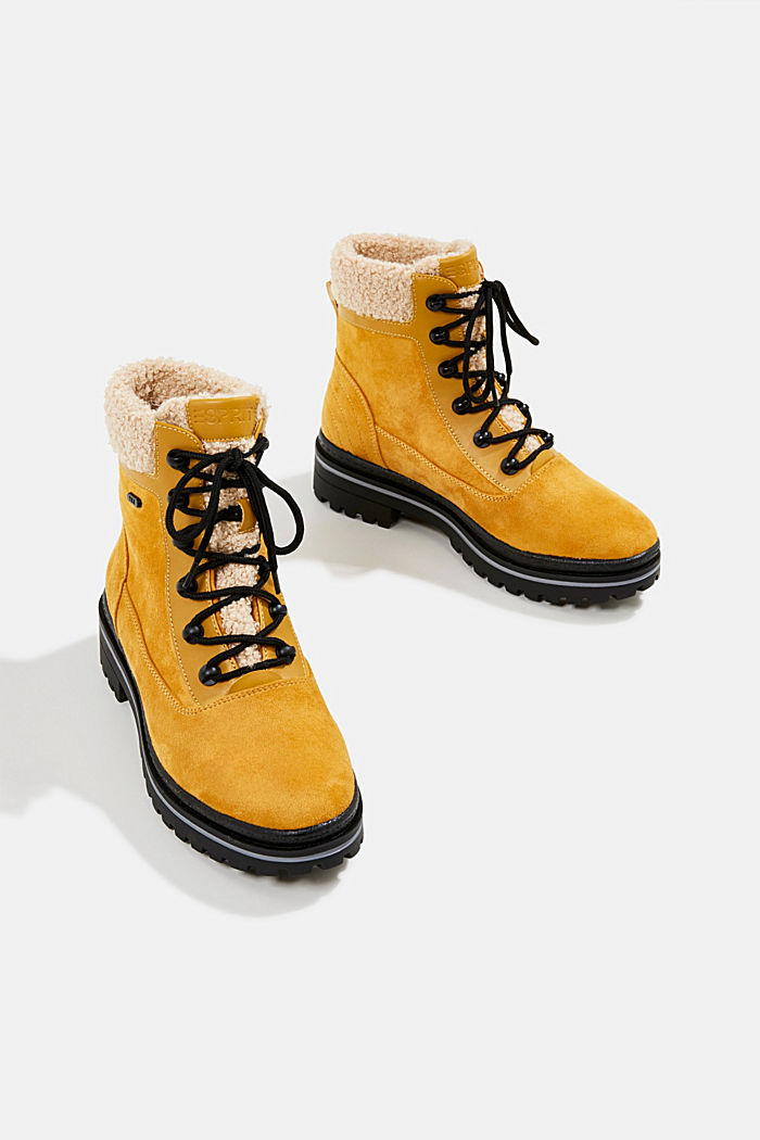 Boots mit TEX-Membran, AMBER YELLOW, detail image number 6