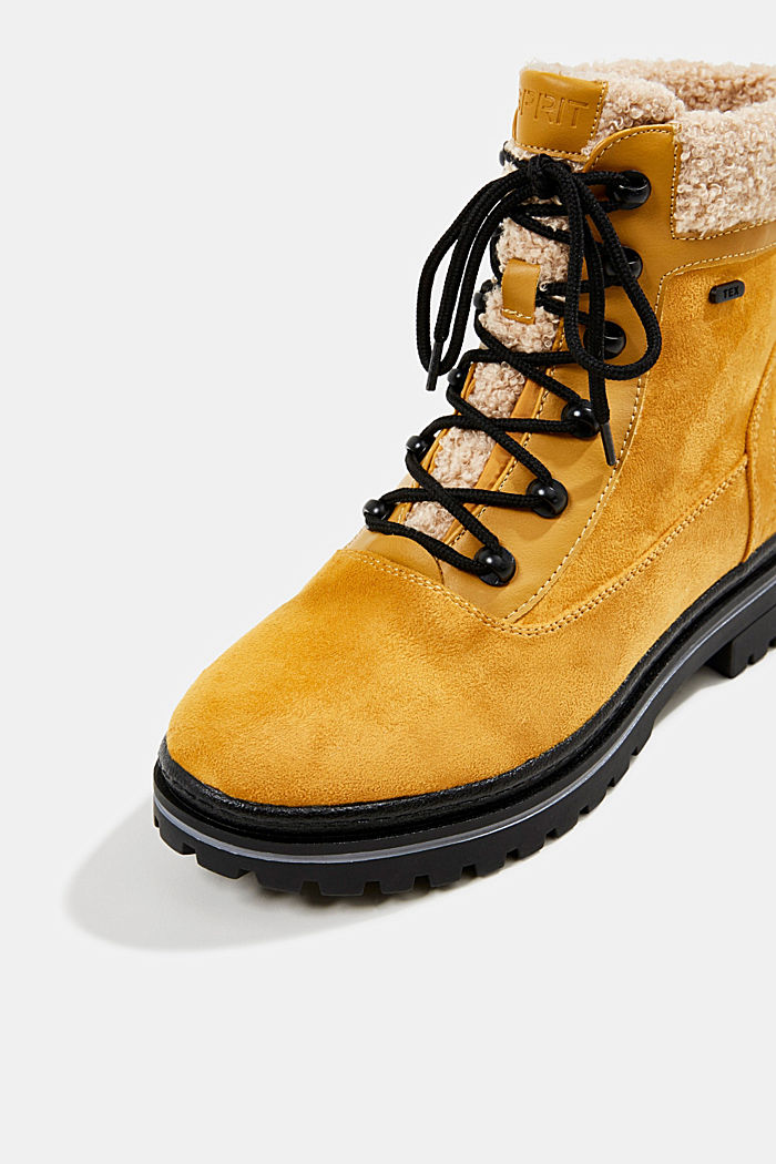 Boots with a TEX membrane, AMBER YELLOW, detail image number 4