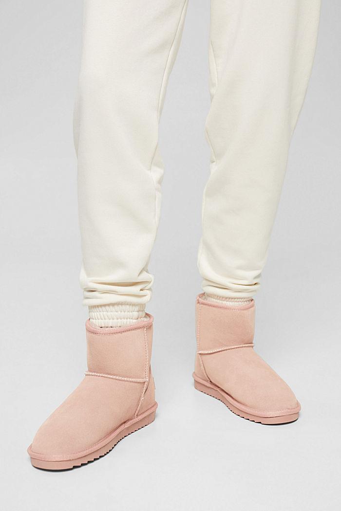 Af læder: Boots i rulamslook