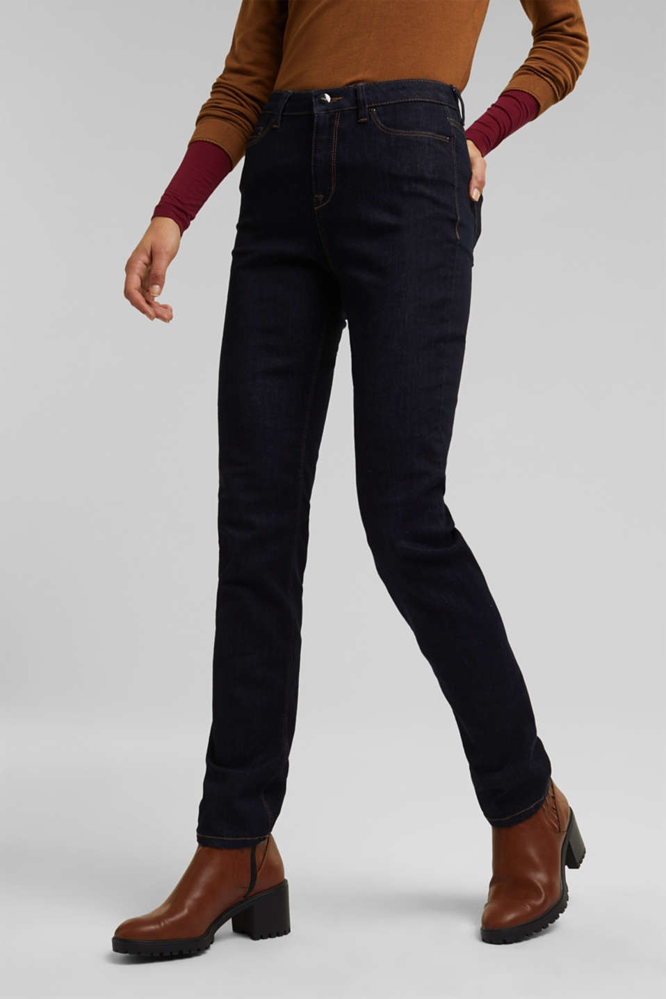 Esprit - Shaping-Jeans mit Organic Cotton