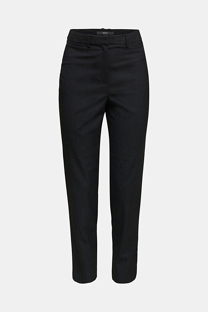 Recycled: PINSTRIPE MIX + MATCH trousers, ANTHRACITE, detail image number 4
