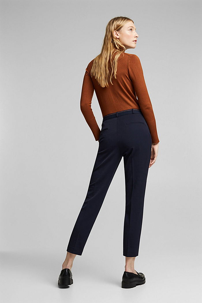Tracksuit bottoms with two-way stretch, NAVY, detail image number 3