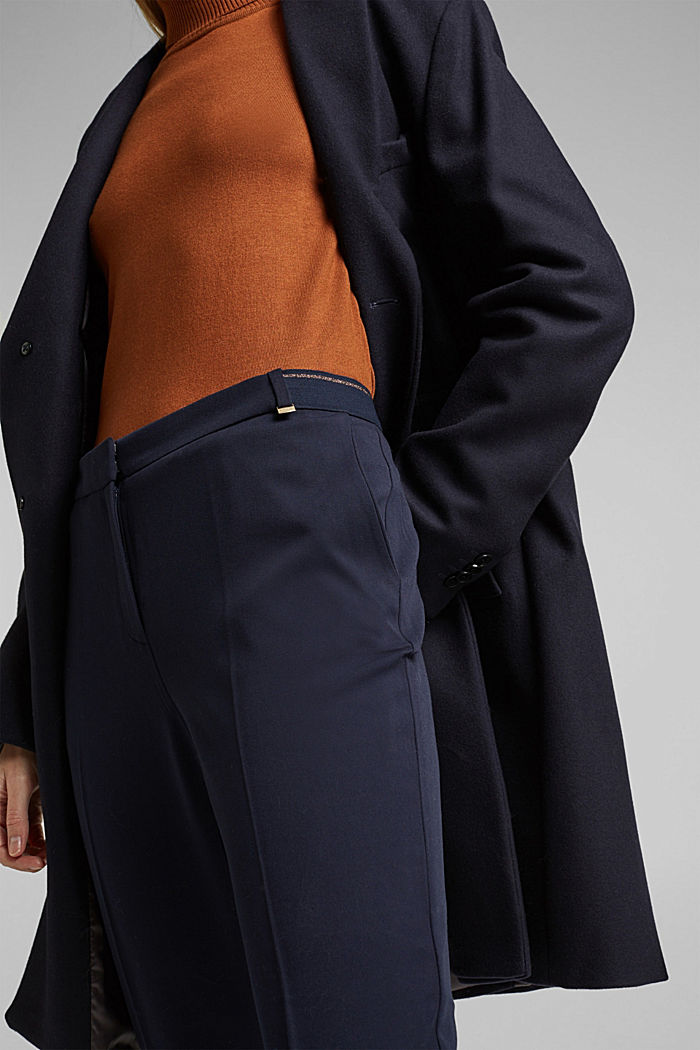 Tracksuit bottoms with two-way stretch, NAVY, detail image number 2