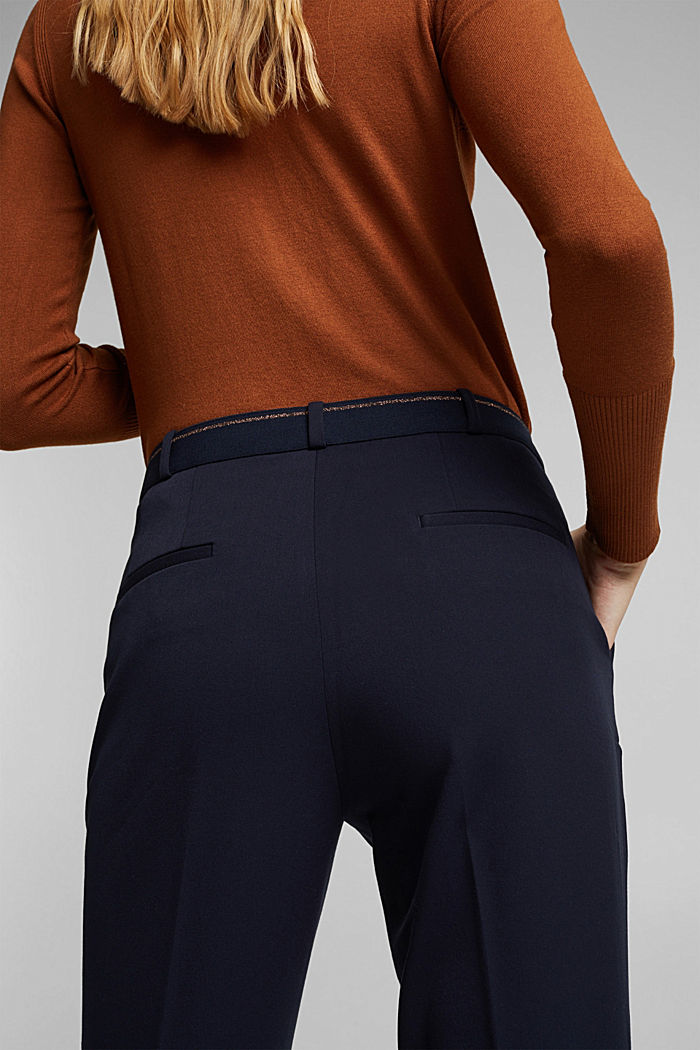 Tracksuit bottoms with two-way stretch, NAVY, detail image number 5