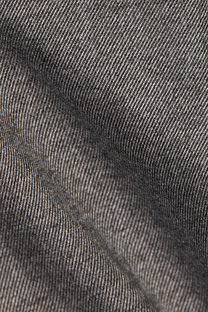 Recycled: Tracksuit bottoms with an elasticated waistband, GUNMETAL, detail image number 4