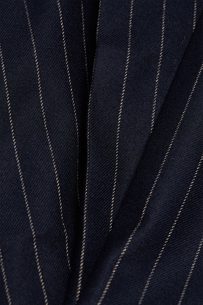 Recycled: tracksuit bottoms with an elasticated drawstring waistband, NAVY, detail image number 4