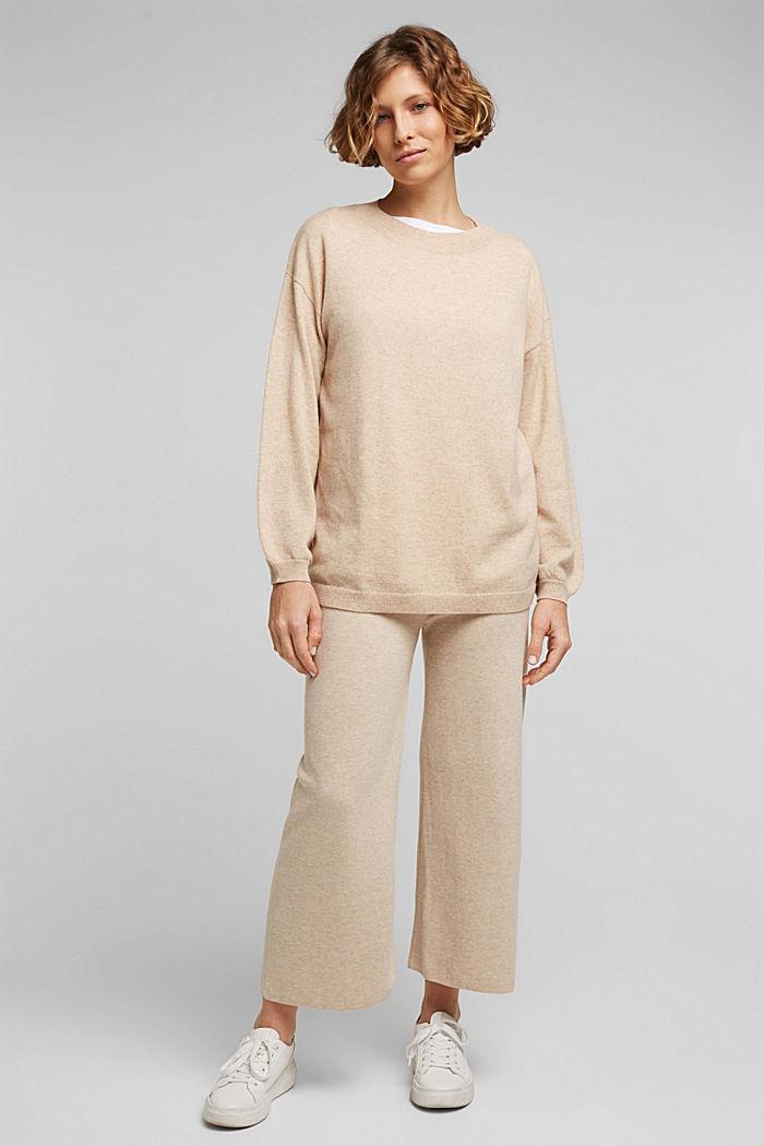 Knit culottes, SAND, detail image number 6