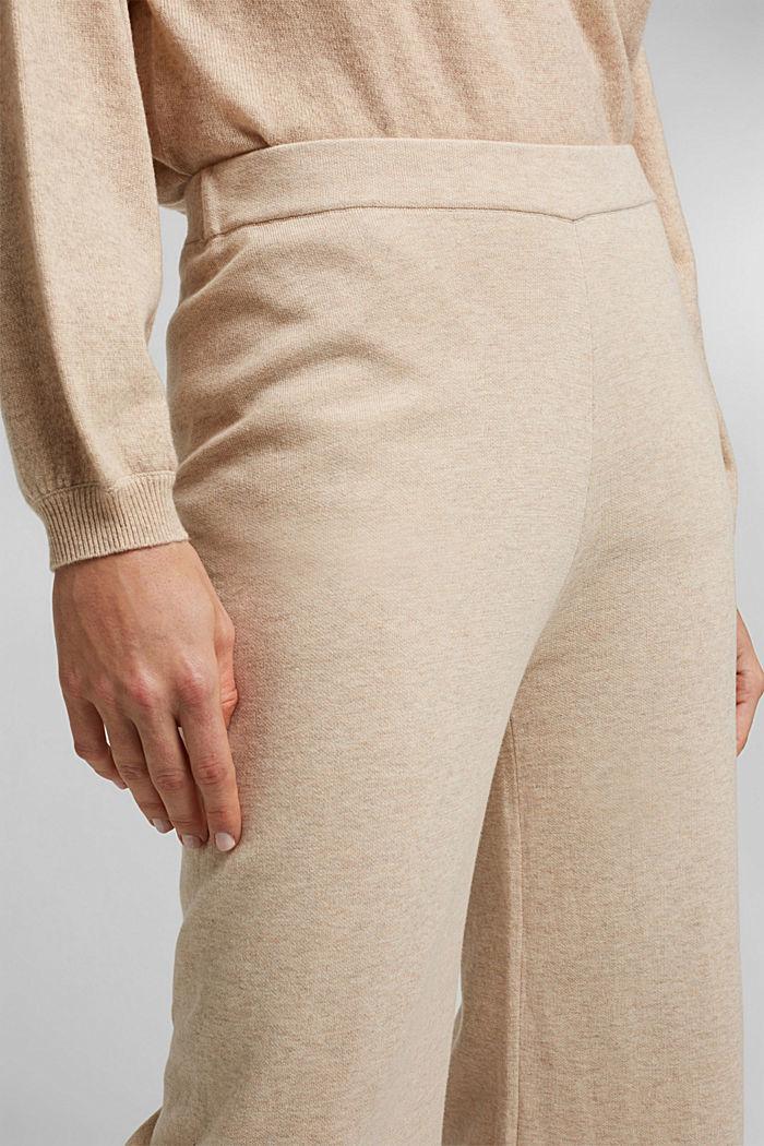 Knit culottes, SAND, detail image number 2