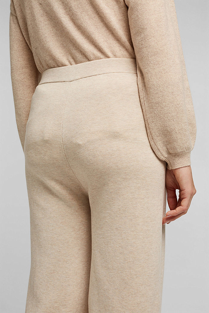 Knit culottes, SAND, detail image number 5