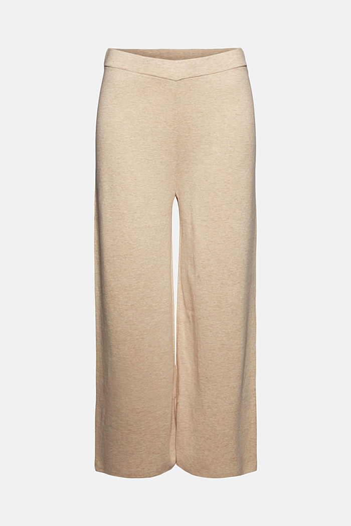Knit culottes, SAND, detail image number 7