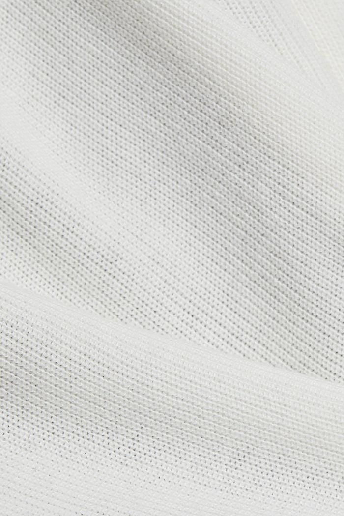 Cashmere blend: fine knit dress, BLACK, detail image number 4