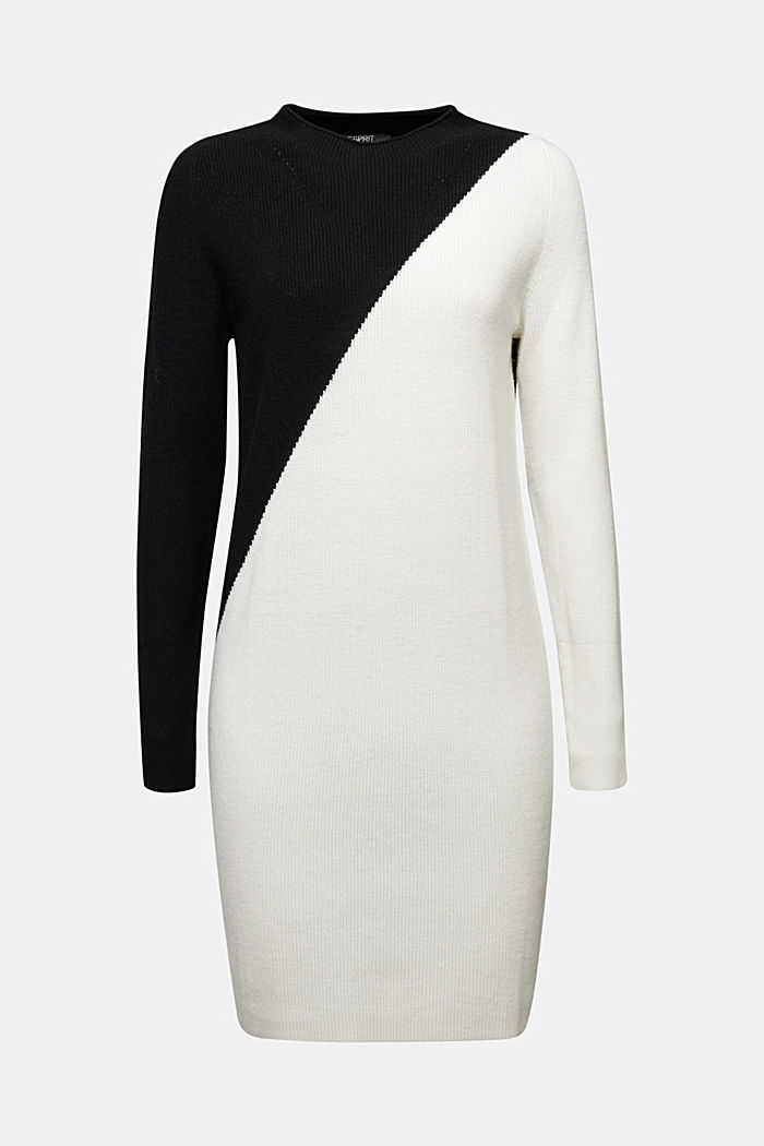 Cashmere blend: fine knit dress