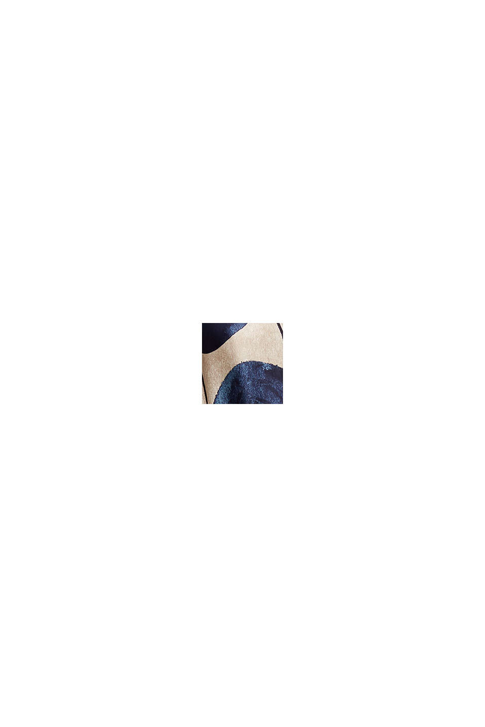 Robe longueur midi en satin à motif, BRIGHT BLUE, swatch