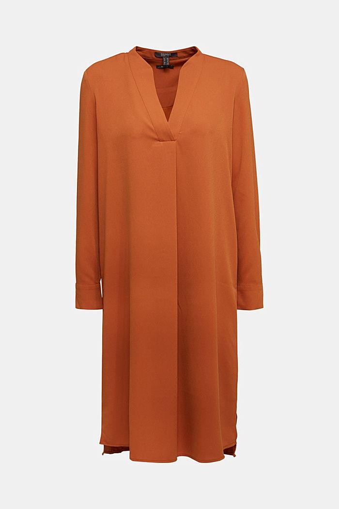 Recycled: Crêpe tunic dress