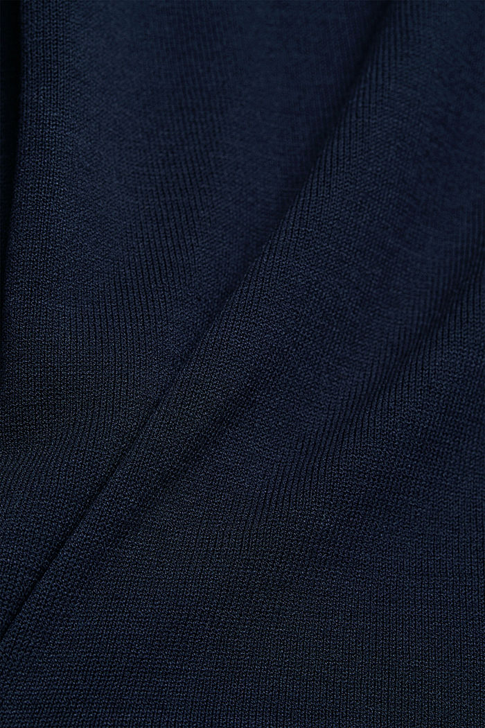 Dress with LENZING™ ECOVERO™, NAVY, detail image number 3
