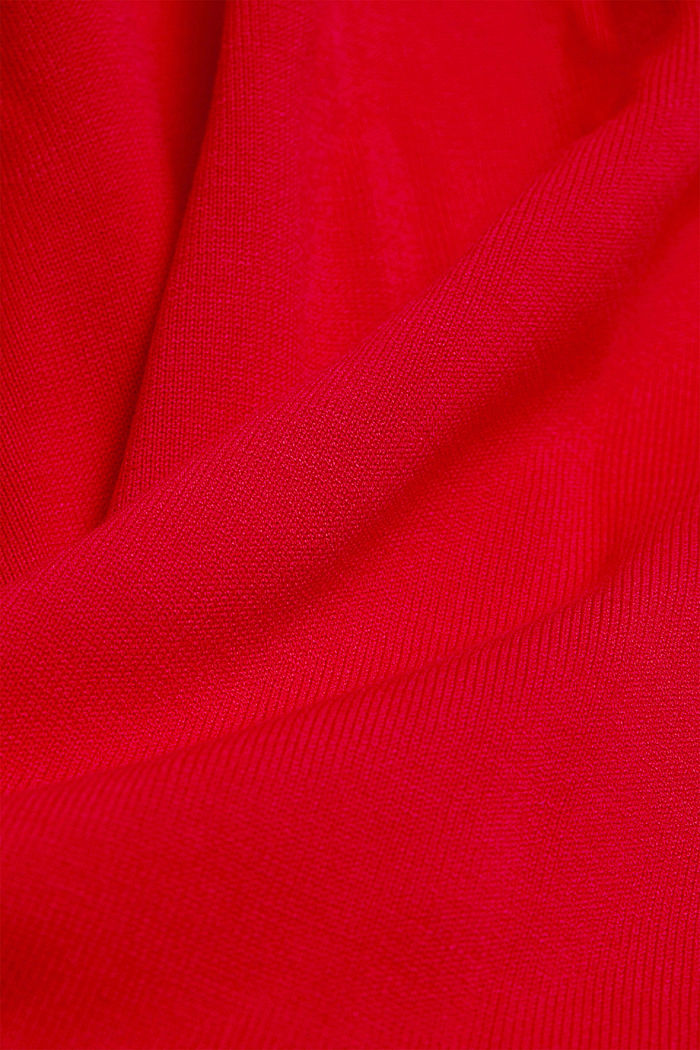 Dress with LENZING™ ECOVERO™, RED, detail image number 4