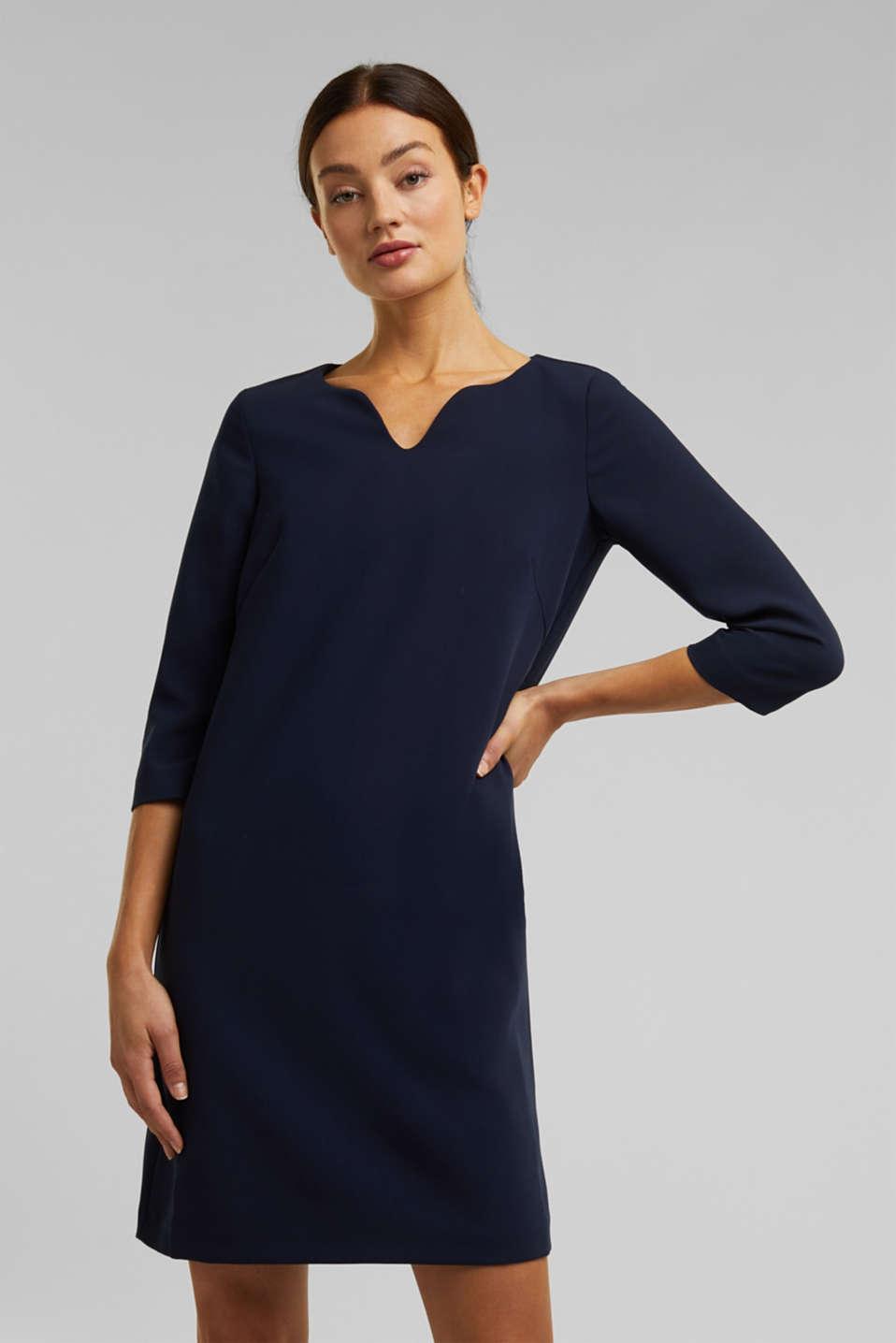 esprit - kleid mit kelch-ausschnitt im online shop kaufen