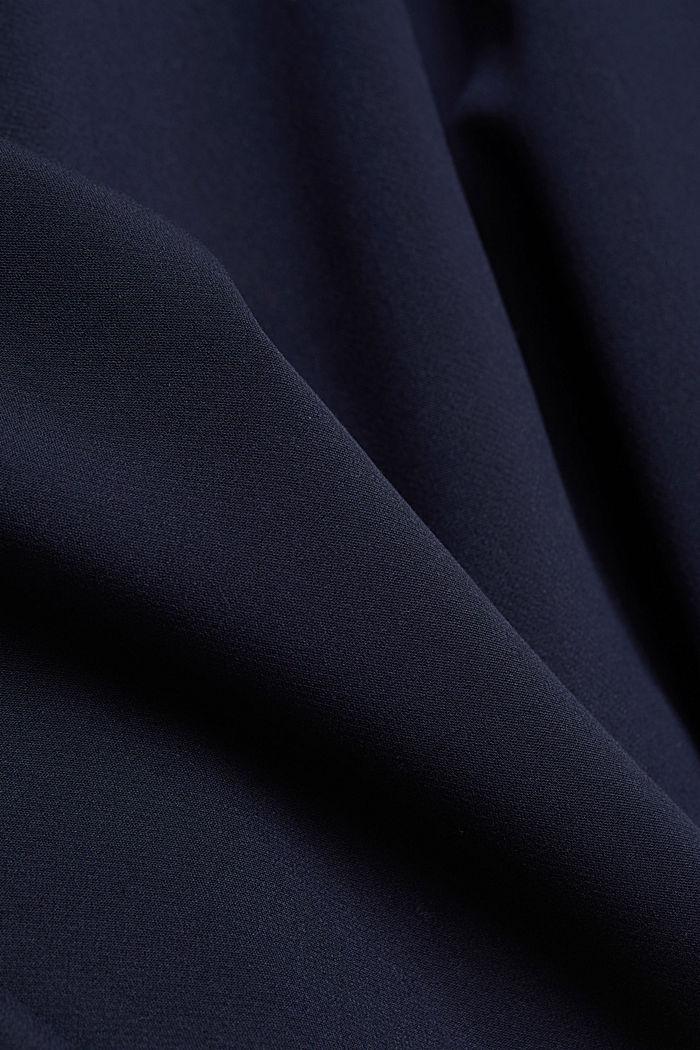 Kleid mit Kelch-Ausschnitt, NAVY, detail image number 4
