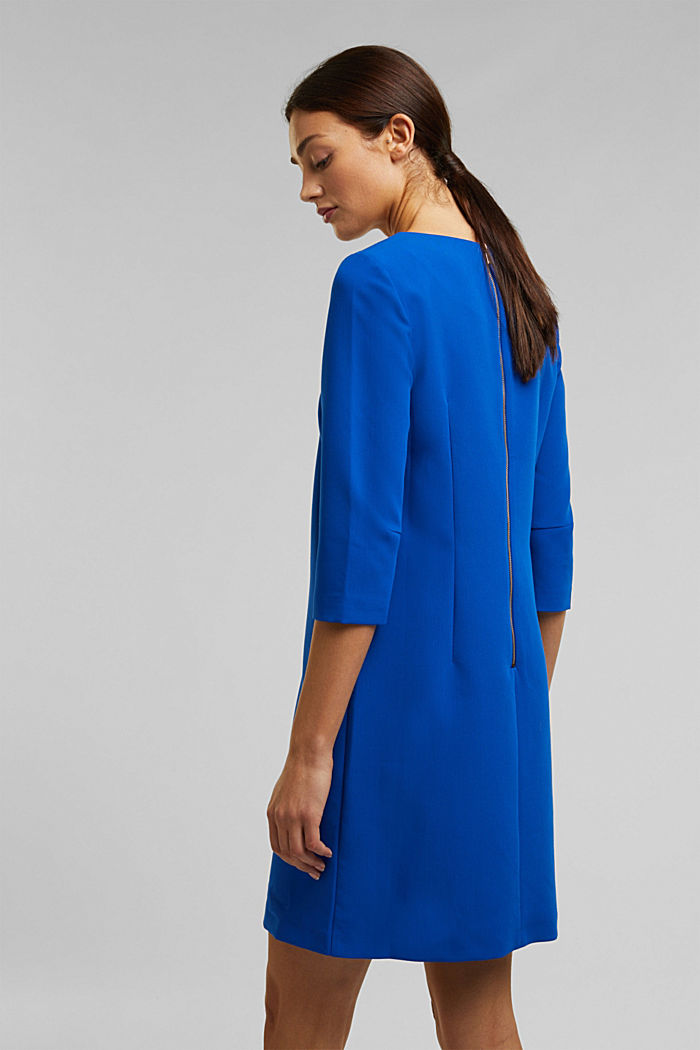 Dress with a cup neckline, BRIGHT BLUE, detail image number 3