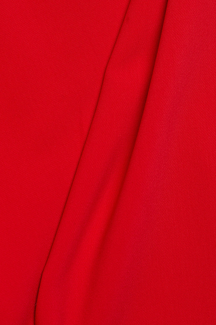 Dress with a cup neckline, RED, detail image number 4