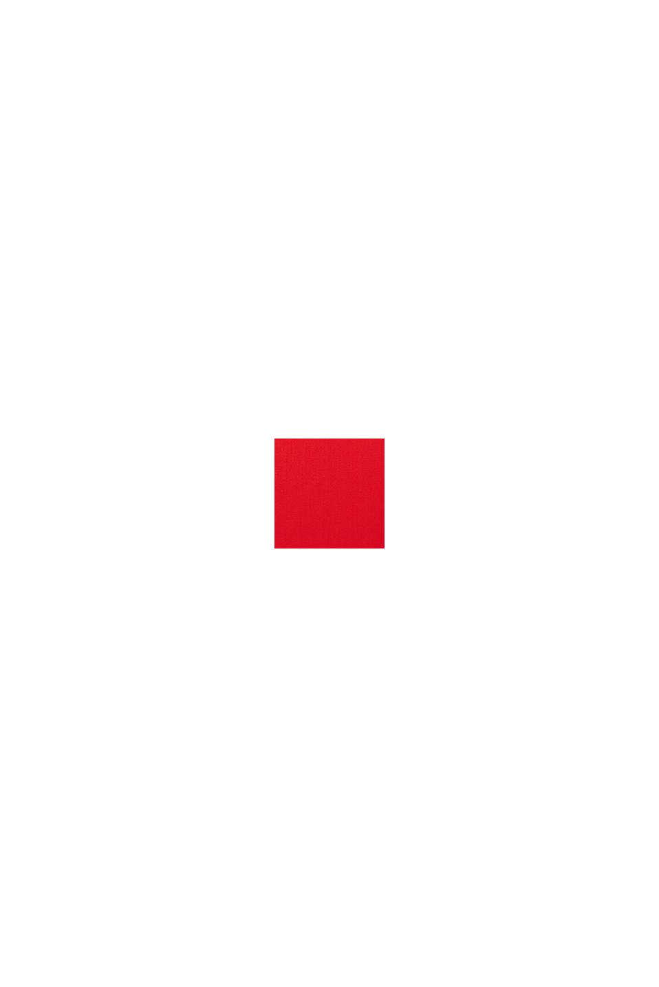 Vestido con escote chilaba, RED, swatch
