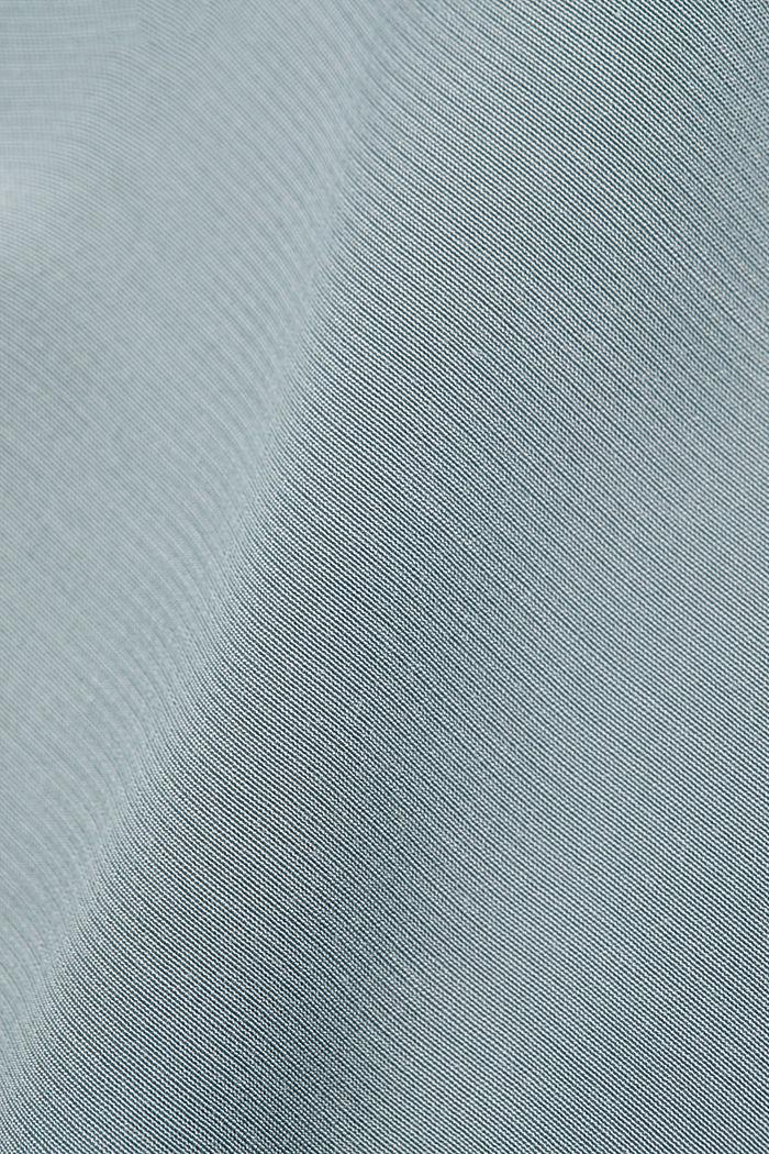 Blouse van LENZING™ ECOVERO™, GREY BLUE, detail image number 4
