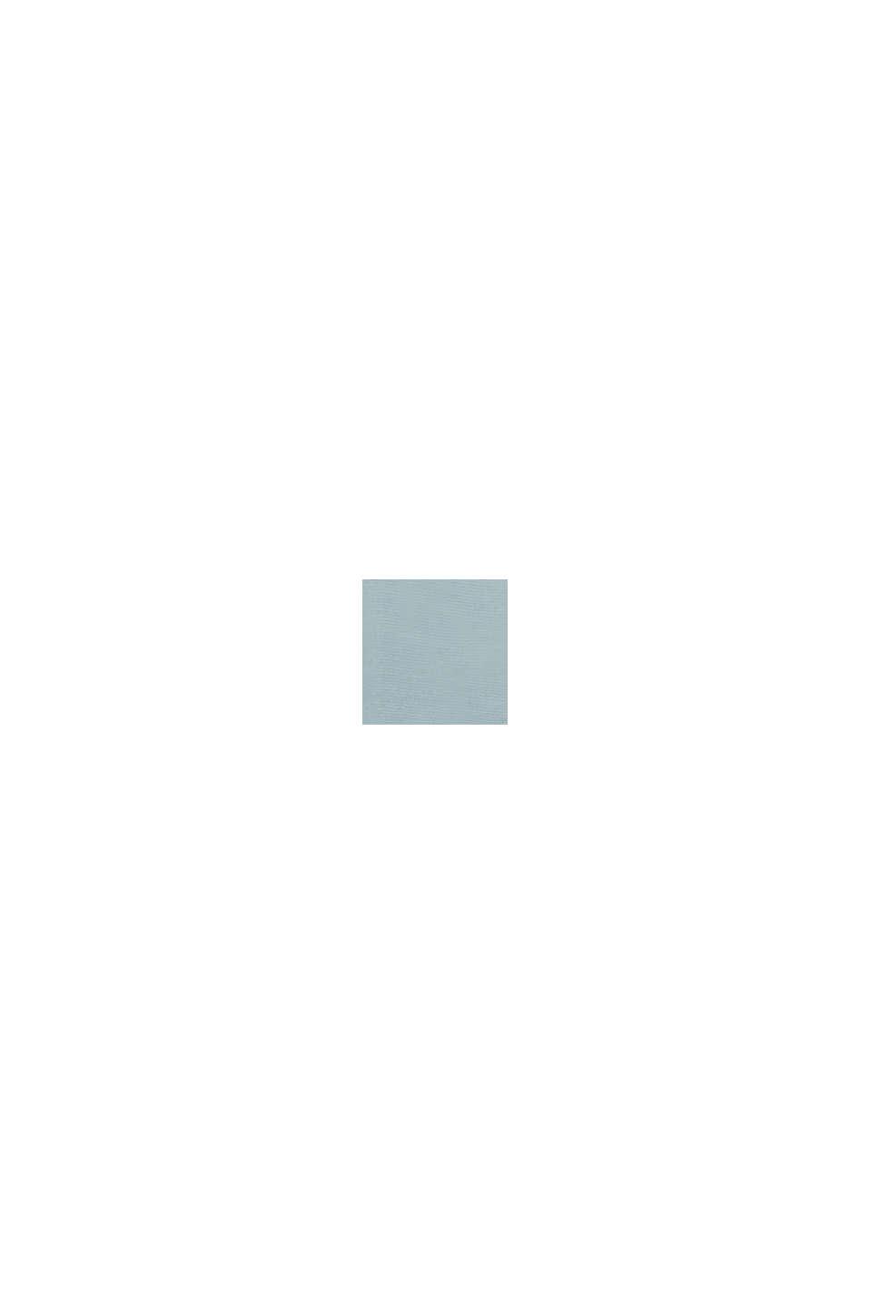 Bluse aus LENZING™ ECOVERO™, GREY BLUE, swatch
