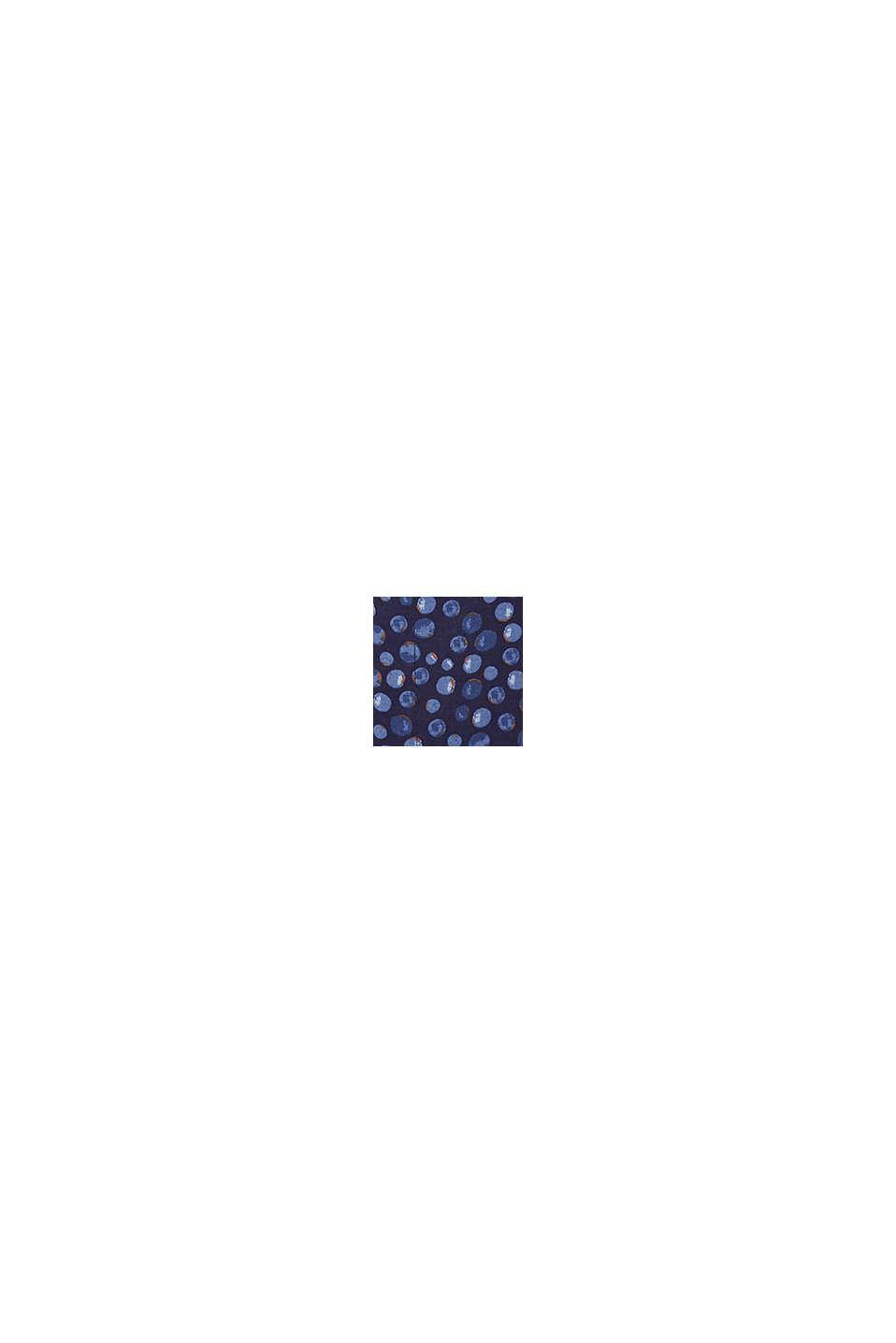 Blusa de LENZING™ ECOVERO™, NAVY, swatch