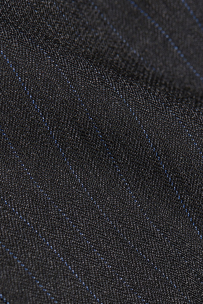 Recycled: PINSTRIPE MIX + MATCH blazer, ANTHRACITE, detail image number 3