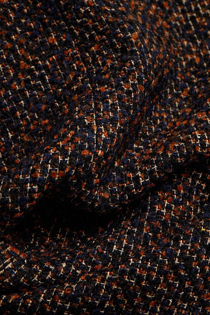 Wool blend: bouclé coat, TAUPE, detail image number 4