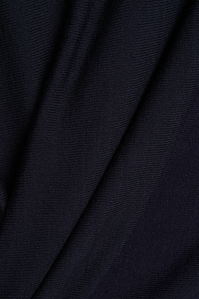 Fine jumper with LENZING™ ECOVERO™, NAVY, detail image number 4
