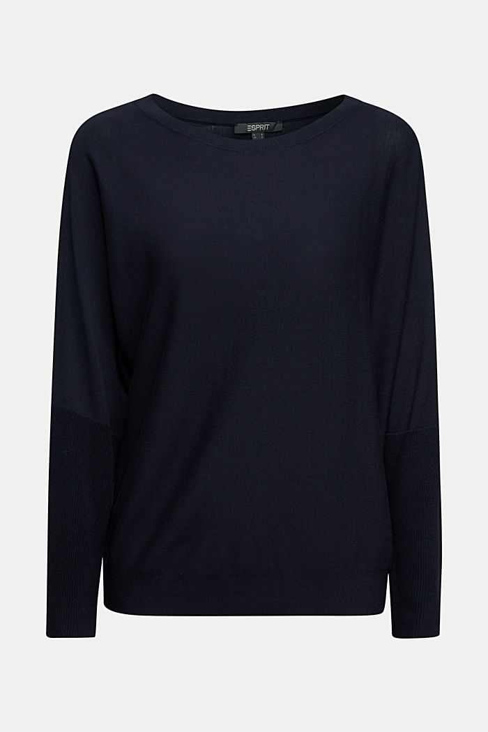 Fine jumper with LENZING™ ECOVERO™