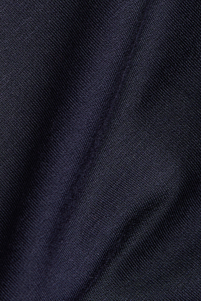 Made of TENCEL™/modal: jersey sweatshirt, NAVY, detail image number 4
