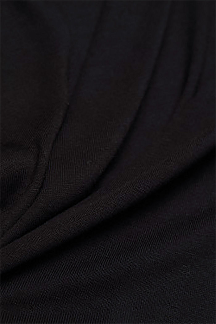 T-shirt made of LENZING™ ECOVERO™, BLACK, detail image number 4