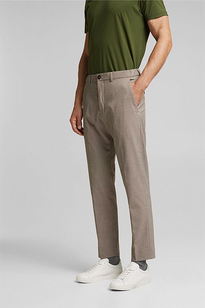Pants suit, DARK BROWN, detail image number 0