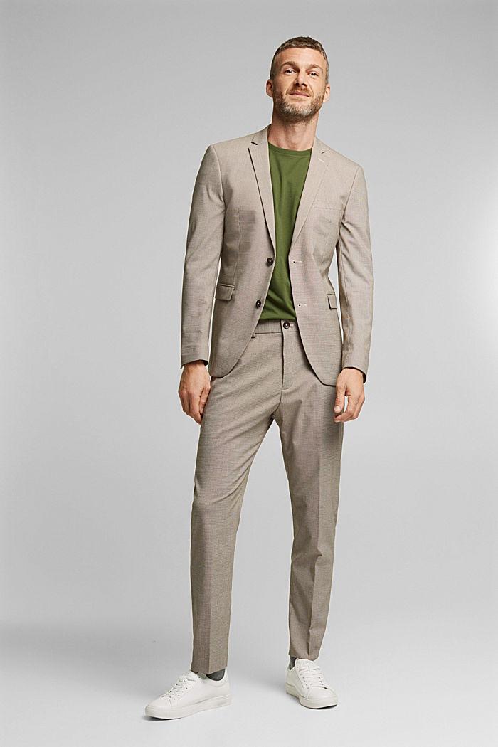 Pants suit, DARK BROWN, detail image number 2