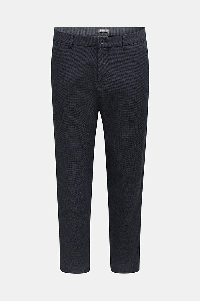 SPORTY CROPPED: trousers containing organic cotton