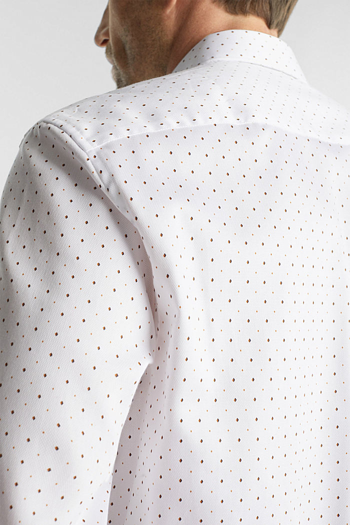 Printed shirt in 100% cotton, WHITE, detail image number 2