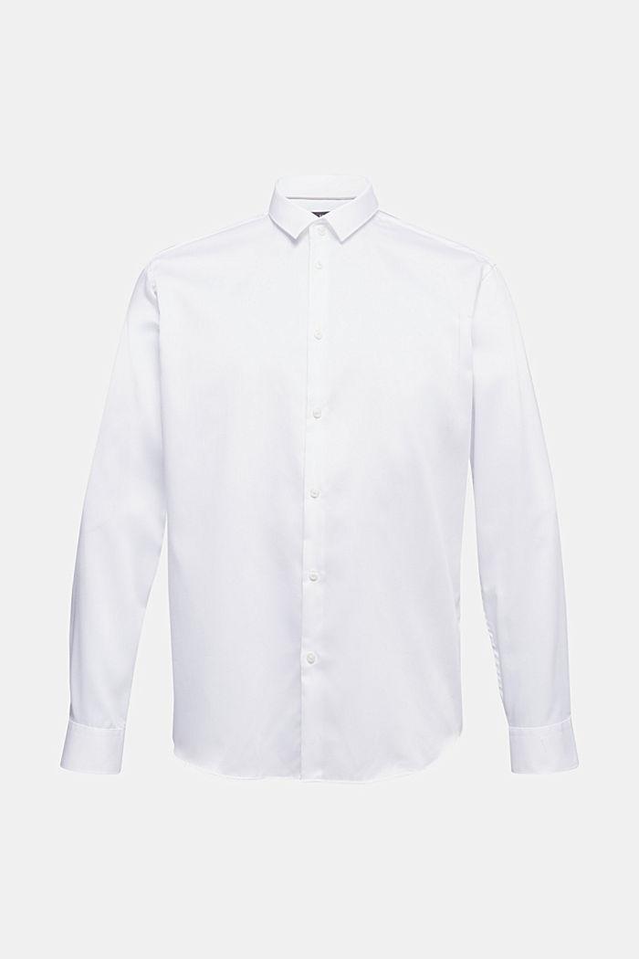 Hemd mit Diamant-Struktur, 100% Baumwolle