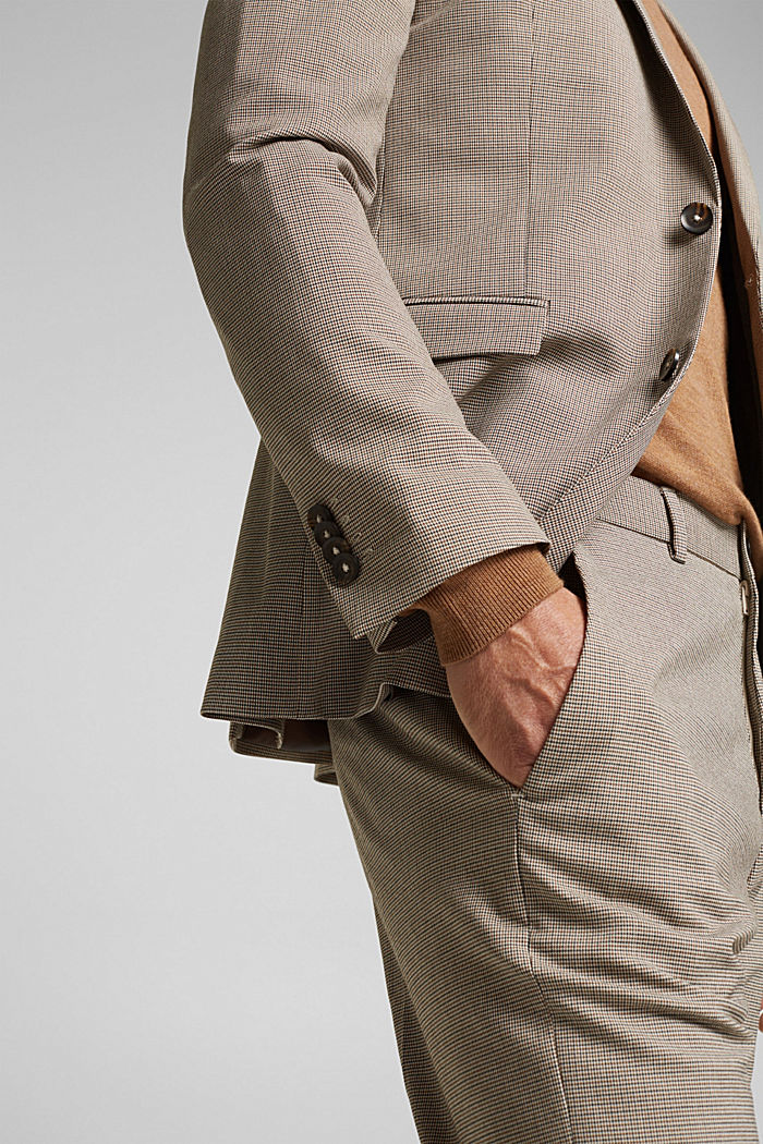 JOGG SUIT mix + match: sports jacket, DARK BROWN, detail image number 2