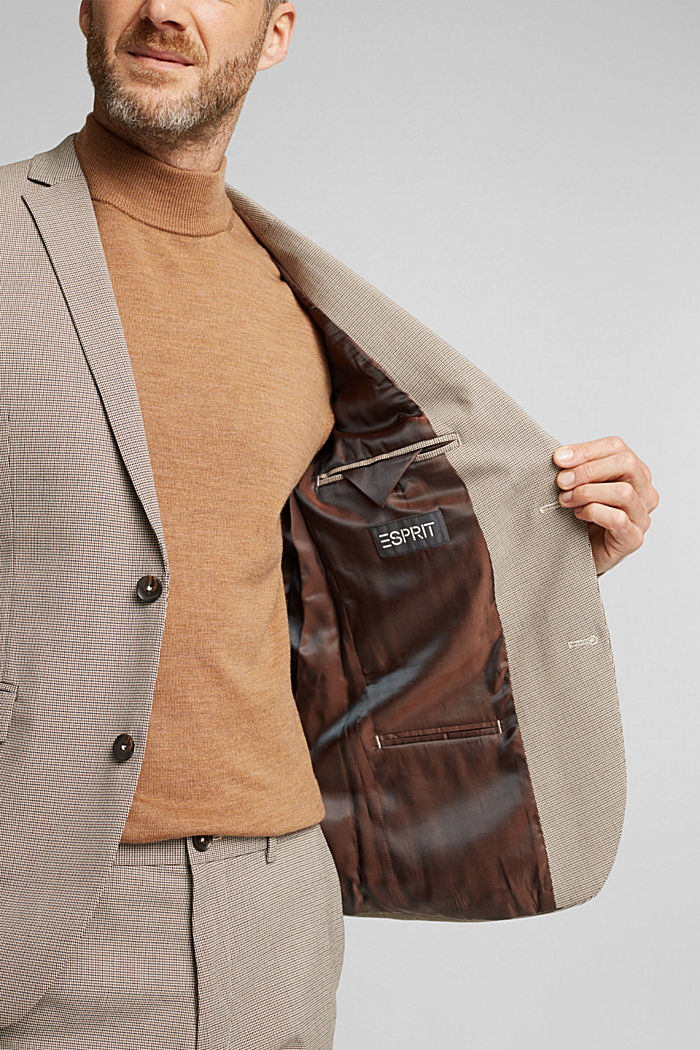 JOGG SUIT mix + match: sports jacket, DARK BROWN, detail image number 5