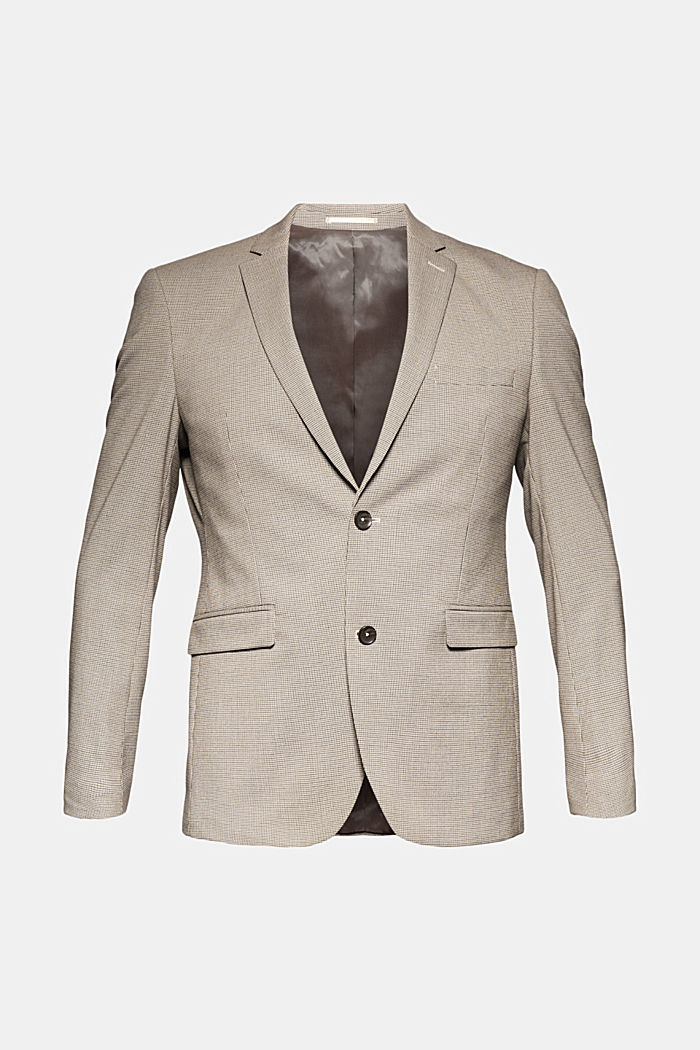 JOGG SUIT mix + match: sports jacket, DARK BROWN, detail image number 6