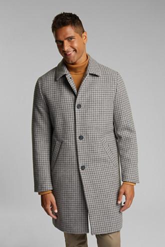 Premium coat in a wool blend