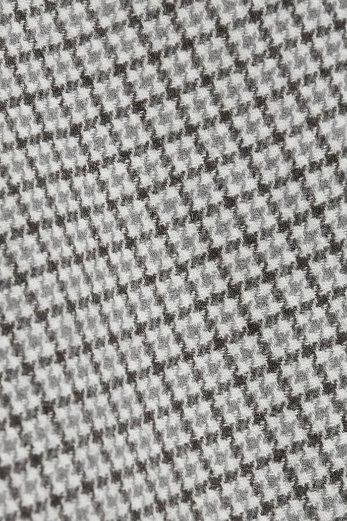 Premium coat in a wool blend, GREY, detail image number 4