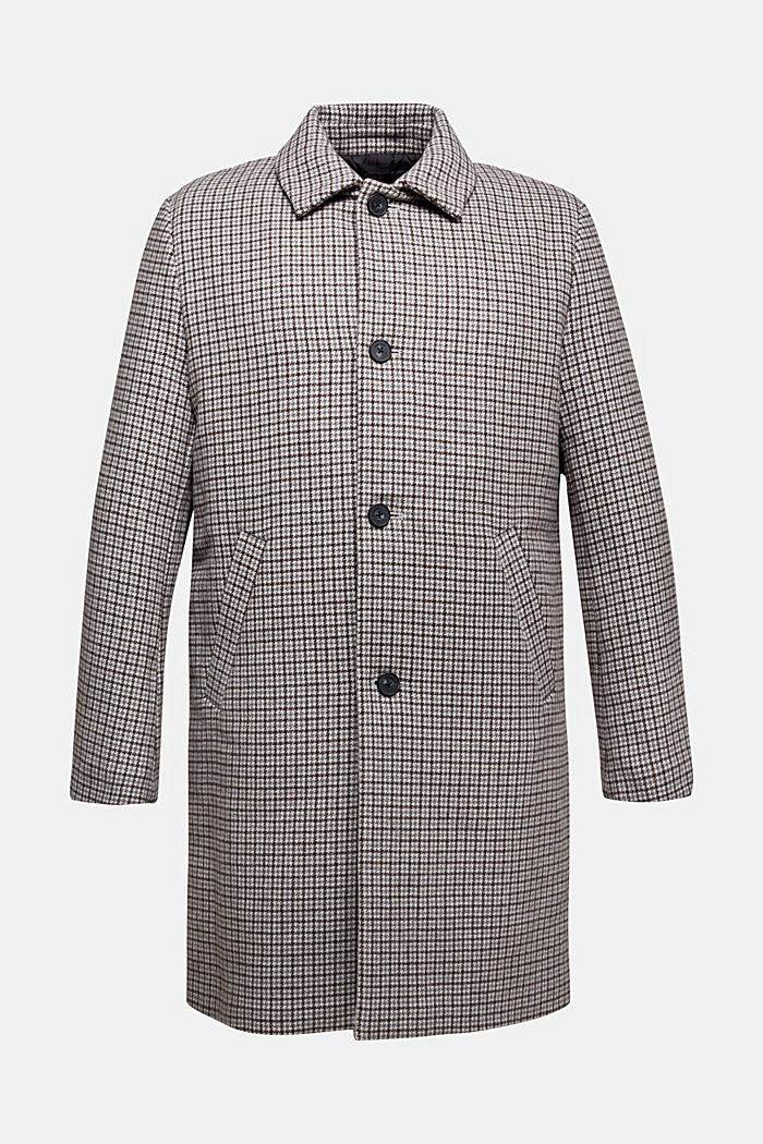 Premium coat in a wool blend