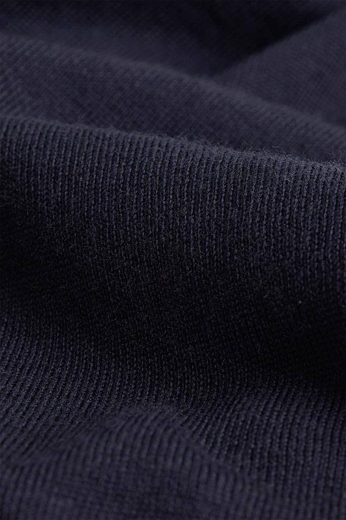 Cardigan made of 100% merino wool, NAVY, detail image number 4